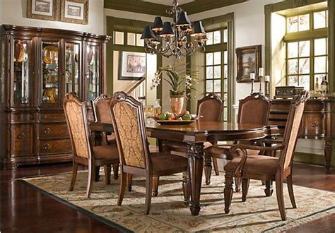 rooms to go dining room sets shop for a north boston 9 pc dining room at rooms to go