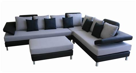 black and grey sectional sofa accessorizeyourspace black gray contemporary sectional