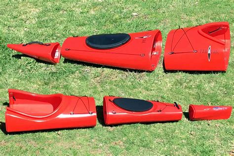 sectional kayak kayak sectional ndk explorer three piece ready to travel