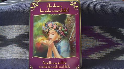 las cartas del orculo 8415292279 cartas or 225 culo mensajes m 225 gicos de las hadas review magical messages from the fairies youtube