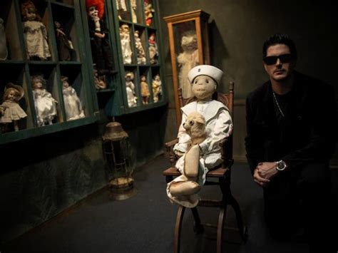 haunted doll ghost adventures ghost adventures zak bagans with robert the haunted doll
