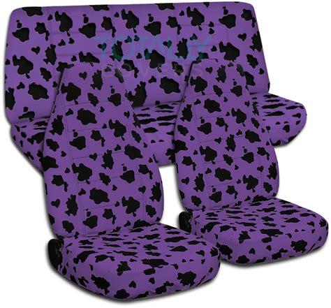 Car Seat Purplem seat covers seat covers zebra print
