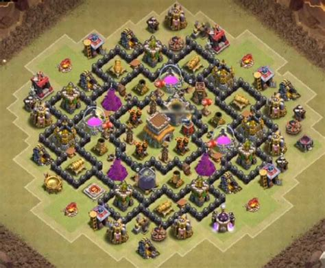 town hall 8 base layout december 2016 th8 hybrid base memes