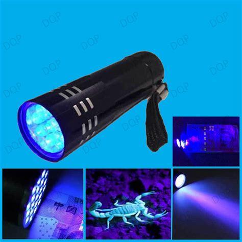 what body fluids glow under black light led uv torch ultra violet black light detect body fluid
