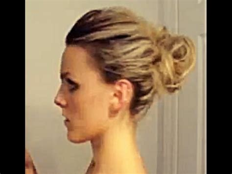 digital hairstyles on upload pictures curly bun updo tutorial youtube