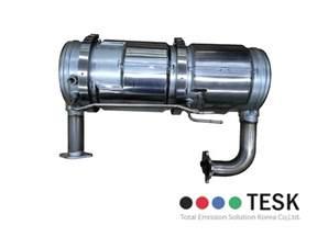 Exhaust System Emission Dpf Diesel Particulate Filter Dpf Muffler Doc Scr