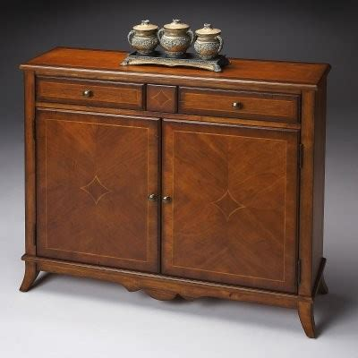 Bathroom Console Cabinet Butler Console Cabinet Antique Cherry Modern
