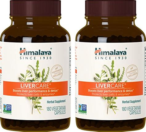 Now Liver Detox Regeneration by Galleon Himalaya Livercare 2 Pack 180 Vcaps For Liver