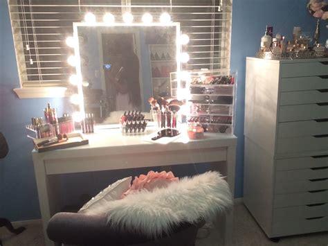 light up makeup table diy vanity inspired mirror 2015 easy