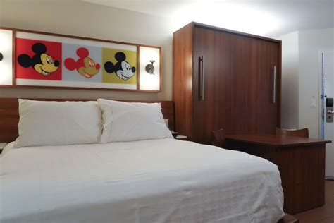 pop century room size disney s pop century refurbished rooms pop with practical style our florida project