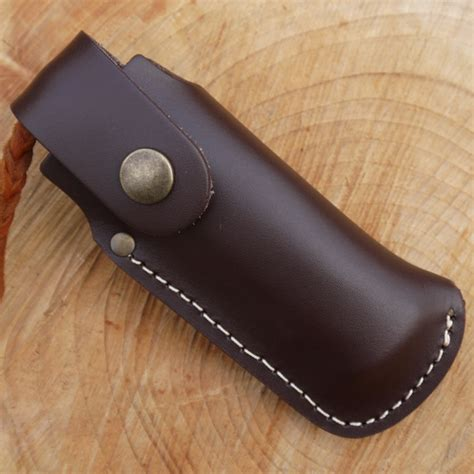 knife pouch tbs leather large folding knife pouch