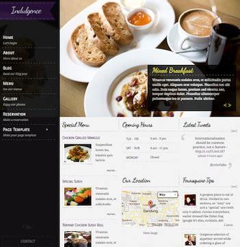 menu templates for mac