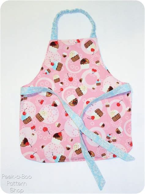 sewing pattern for apron toddler apron aprons and free pattern on pinterest