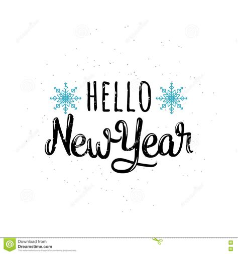 hello new year images vector illustration of hello new year stock vector image