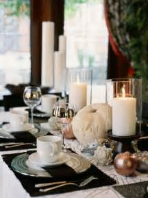 Modern Table Settings 26 Black And White Thanksgiving D 233 Cor Ideas Digsdigs