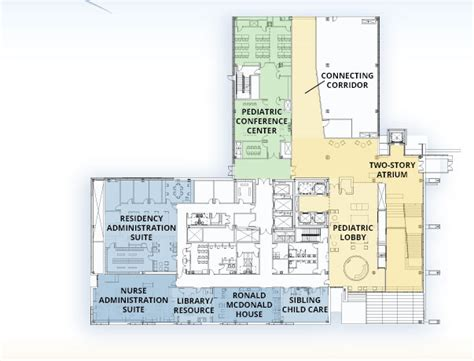 Two Story Apartment Floor Plans Golisano Children S Hospital Naming Opportunities And