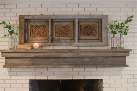 diy rustic fireplace mantel fireplace designs