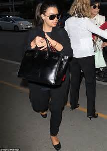 Black Comfortable Flats Kim Kardashian Gives Her Swollen Feet A Rest As She