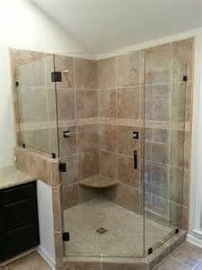 how to install a frameless glass shower door frameless shower doors custom glass shower doors atlanta ga