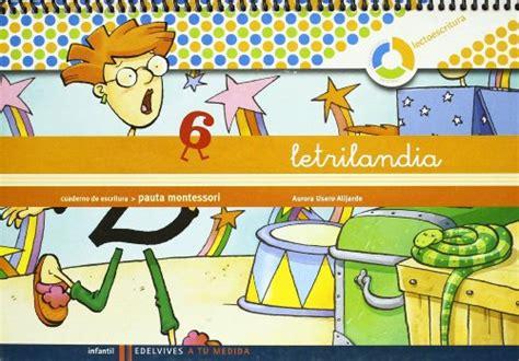letrilandia a tu medida libro letrilandia a tu medida lectoescritura educaci 243 n infantil cuaderno de escritura 5