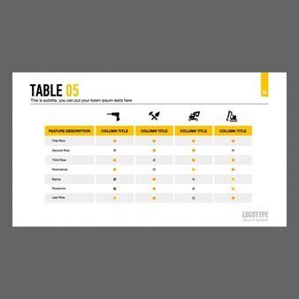 Table Vectors Photos And Psd Files Free Download Photoshop Table Template