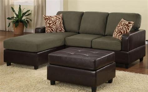 sage color sofa bobkona manhattan reversible microfiber 3 piece sectional
