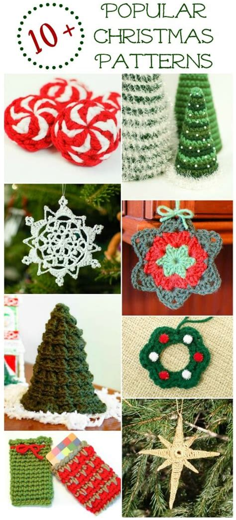best freecrochets christmas 10 popular free crochet patterns petals to picots