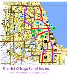 Chicago Police Zone Map chicago police zones and districts
