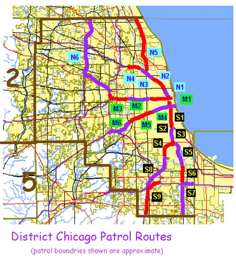 chicago district map chicago district zone map