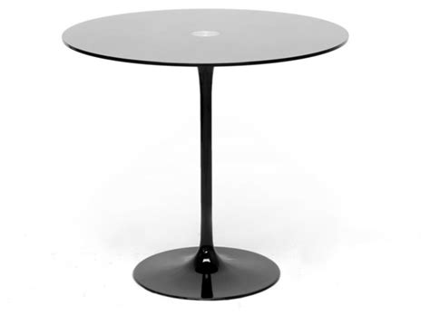 Modern Bistro Table by Black Glass Modern Bistro Table 31 5 Quot