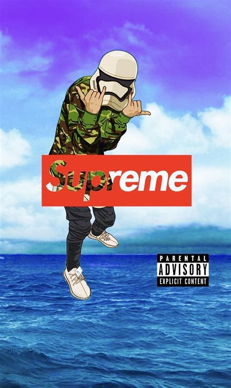 Anime X Supreme by Supreme Wallpapers Wallpaper Cave