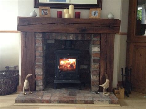 Fireplace Surrounds For Wood Burners Best 25 Surround Ideas On Wood Burner