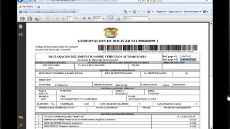 pago impuesto de vehculos en sucre bolivia consultar y pagar el impuesto de vehiculo automotor en