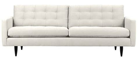 petrie couch crate and barrel the white sofa dilemma uncle owly