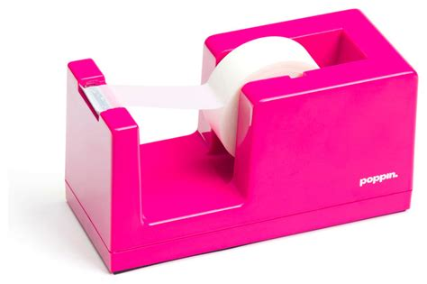 dispenser pink modern desk accessories