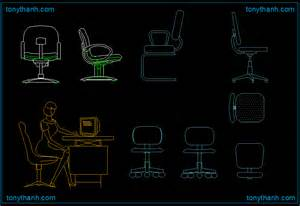 Office Desk And Chair Dwg Chair China Style Chair Autocad Drawing China