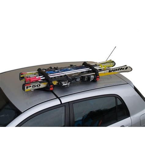 Porte Ski Voiture by Porte Skis Magn 233 Tique Viking Norauto Fr