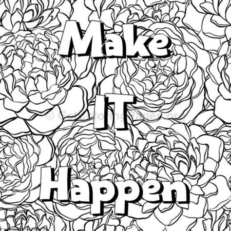 word coloring page generator make life your bitch swear word coloring book word