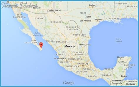 map of mexico cabo map of los cabos travelsfinders