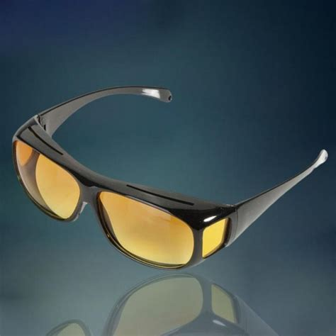 2016 unisex hd yellow lenses sunglasses hd vision goggles