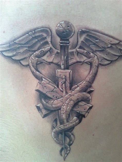 tribal caduceus tattoo caduceus tattoos designs ideas and meaning tattoos for you