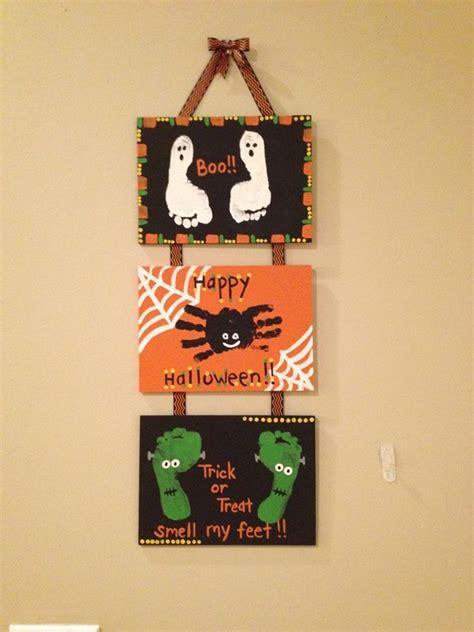 holloween crafts for 10 handprint and footprint ideas beesdiy