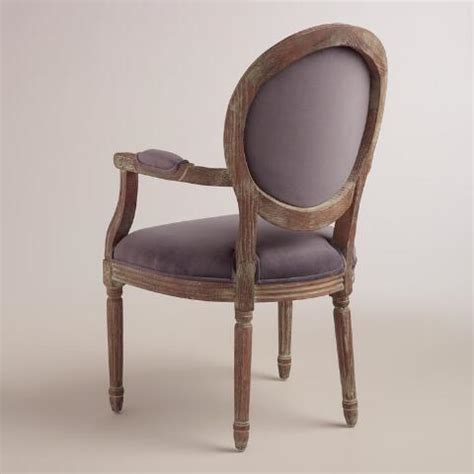 plum armchair plum paige round back armchair world market