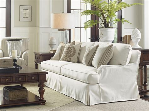Dining Room Chair Covers With Arms Lexington Coventry Hills Stowe Slipcover Sofa With English