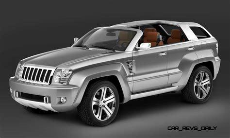 jeep sports car concept concept flashback 2007 jeep trailhawk