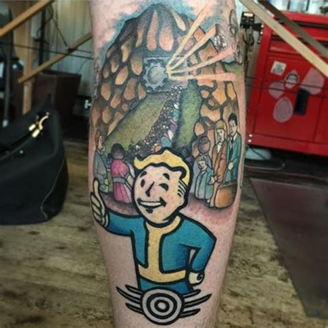 neck tattoo fallout 4 23 best fallout 4 tattoo ideas that you can share with