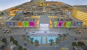 Covered Outdoor Entertainment Area - mall of qatar welcomes visitors on its soft opening
