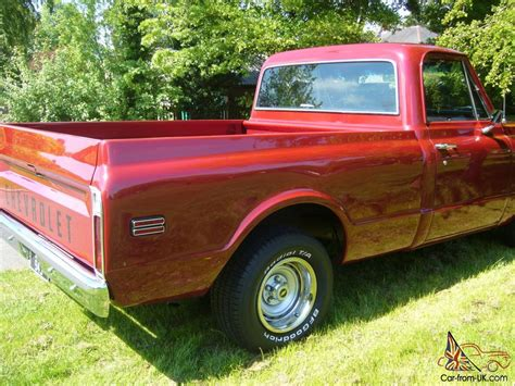 short bed truck cer chevrolet c10 short bed pickup truck 1971
