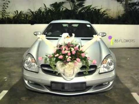 Wedding Car Deco by Wedding Car Flowers Car Decor Picture Ideas