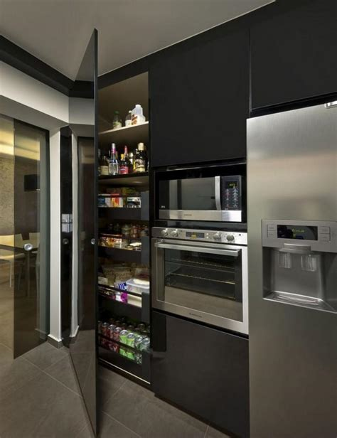 modern kitchen pantry cabinet 10 modern kitchen pantry cabinets rilane